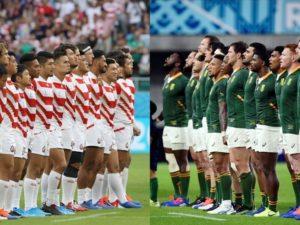 日本、南アフリカに敗れ史上初4強ならず。