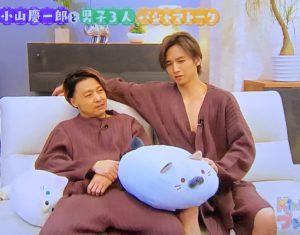 KinKi Kidsの二人 パジャマ姿、パンツ公開?!